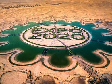 How to get to the stunning Expo 2020 Dubai Lake