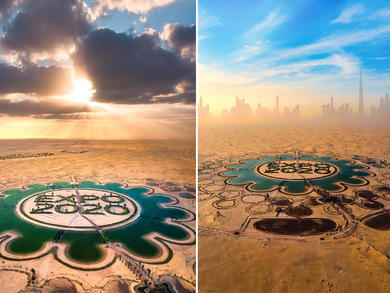 Five stunning snaps of the Lake of Expo 2020 Dubai