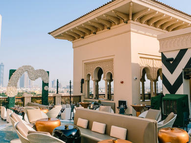 Dubai's Mercury Lounge has reopened for winter