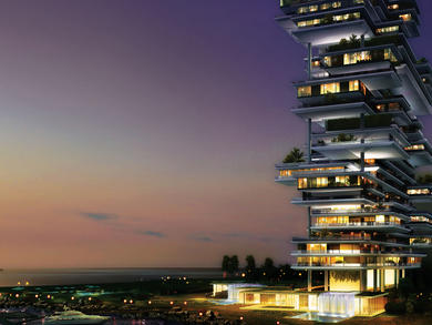 Brand-new luxury residences due to open on Dubai's the Palm this year