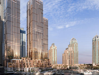 Brand-new hotel and residences Jumeirah Living Marina Gate opens