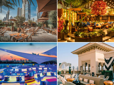 Top rooftops and terraces now open in Dubai
