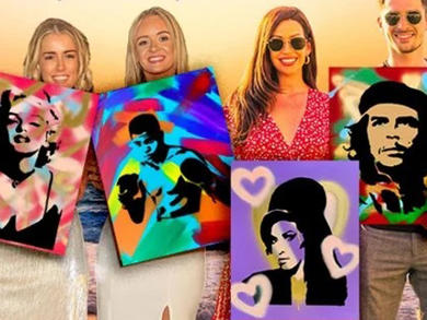 Paint a pop-art masterpiece at this evening brunch in Dubai