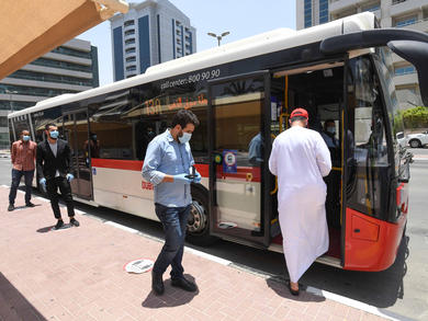 RTA resumes Dubai-Sharjah intercity bus routes