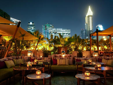 Ninive reopens its gorgeous winter terrace