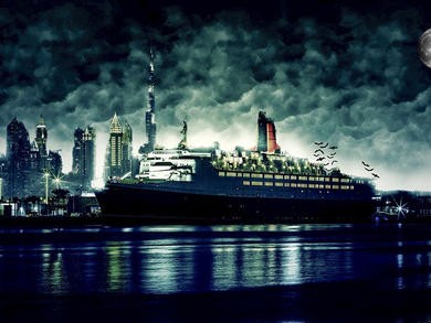 Celebrate Halloween with the kids on the QE2