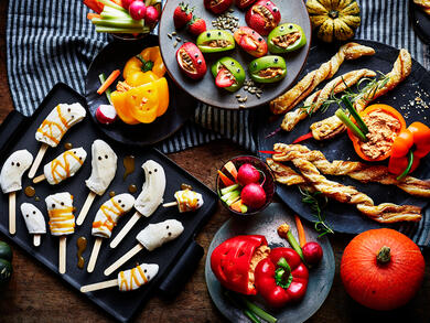 Healthy Halloween treats to make with the kids