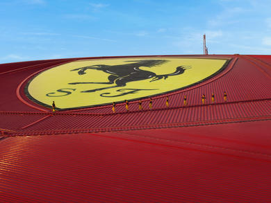 Everything you need to know about Ferrari World Abu Dhabi's zip-line and roof walk