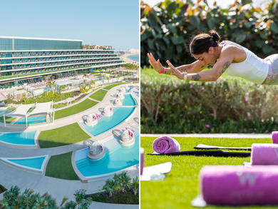 A fitness staycation is happening on Dubai's Palm Jumeirah
