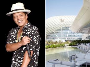 Bag a brilliant hotel deal in Abu Dhabi with Bruno Mars tickets