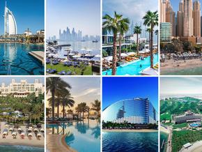 Beautiful beachfront hotels in Dubai