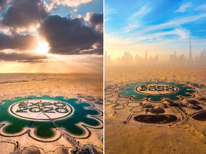 Five stunning snaps of the Lake of Expo 2020 Dubai